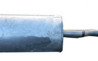 Замена глушителя на лада калина: фото, видео