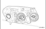 Замена лампы ближнего света на шевроле каптива: фото и видео
