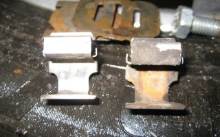 Как поменять задние колодки на митсубиси лансер 9: фото и видео