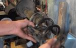 Замена опорного подшипника рено логан: фото и видео