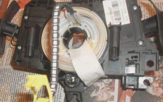Горит лампочка подушки безопасности рено логан, как устранить?