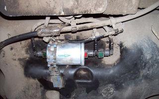Топливный фильтр рено логан: где находится, фото и видео