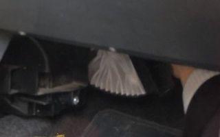 Где находится заборник воздуха на лада ларгус: фото и видео