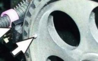 Установка зажигания ваз-2114 инжектор по меткам: фото и видео