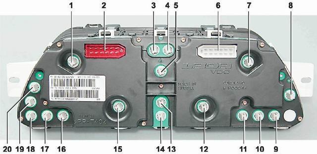 Не горит подсветка панели приборов на ВАЗ-2112: ремонт