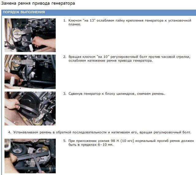 Замена ремня генератора ВАЗ-2112 16 клапанов: натяжка, фото, видео