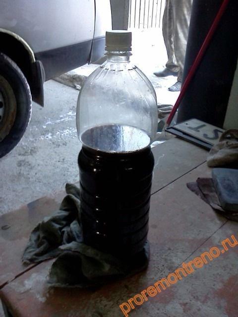 Какое масло можно доливать в ГУР на Рено Логан