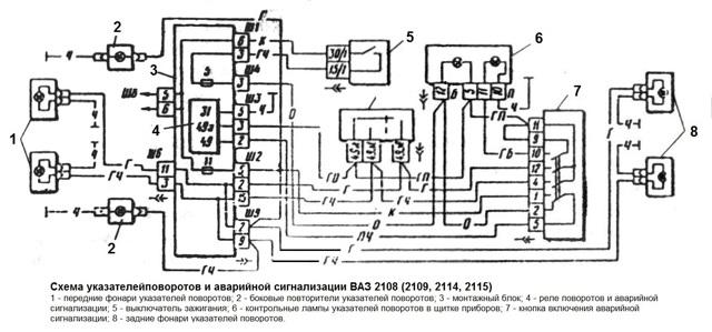 Не работают поворотники и аварийка на ВАЗ-2110, что делать?