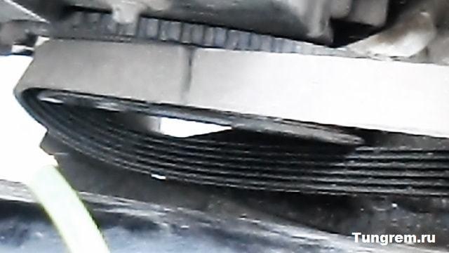 Замена ремня генератора Лада Гранта без натяжителя