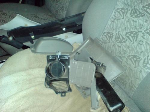 Замена радиатора печки Лада Калина без снятия панели: фотоотчёт, видео