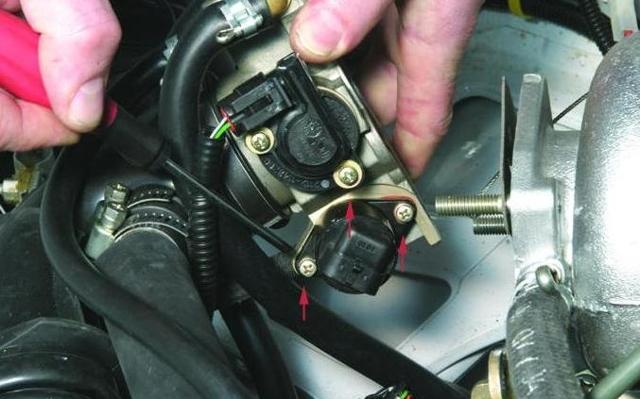 Замена датчика холостого хода на ВАЗ-2112 16 клапанов: фото, видео