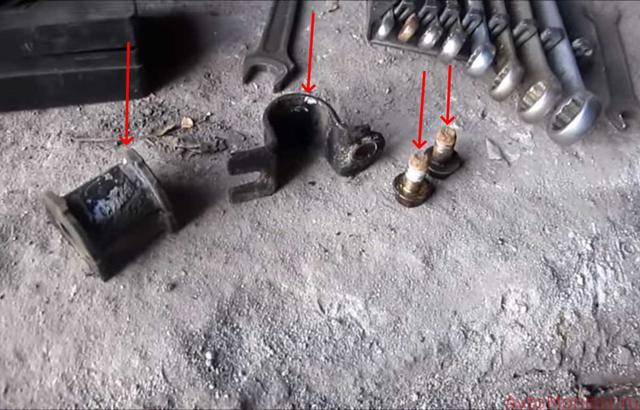 Замена втулок стабилизатора на Шевроле Лачетти: фото и видео