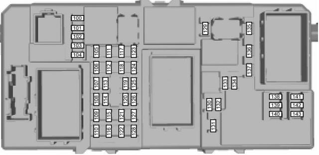 Где находится предохранитель на бензонасос Форд Фокус 2