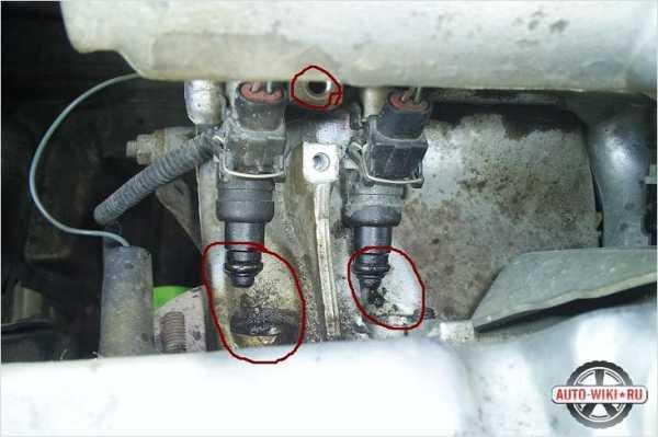 Как снять и почистить форсунки на ВАЗ-2110: фото и видео