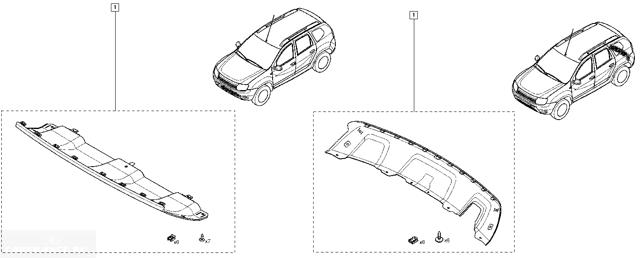 Как снять передний бампер на Рено Дастер самому: фото и видео