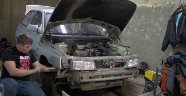 Замена порогов на ВАЗ-2110 своими руками: фото и видео