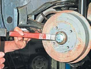 Как поменять задние тормозные колодки на Шевроле Ланос