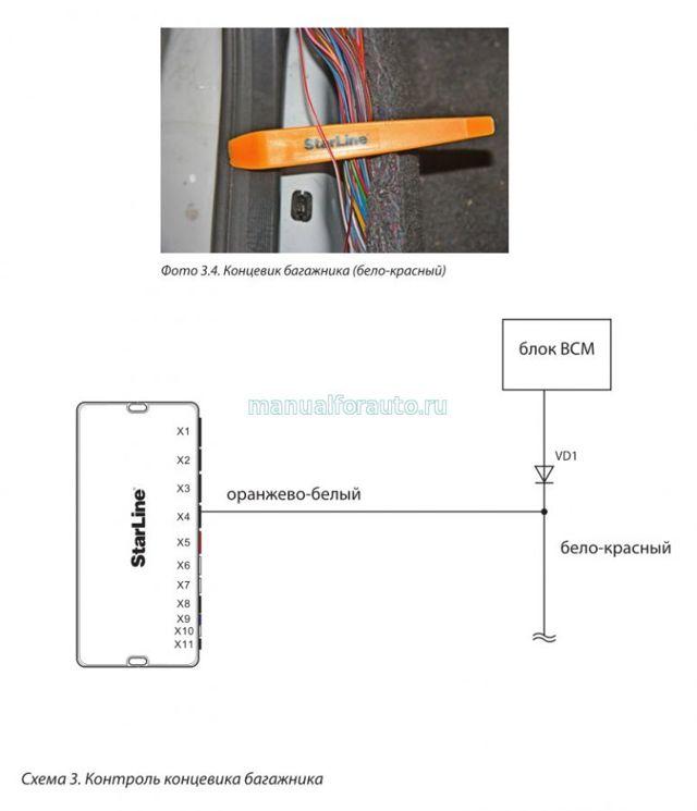 Установка сигнализации Лада Гранта своими руками: точки подключения