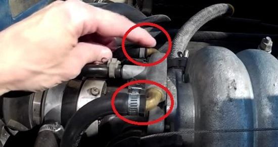 Как выгнать воздух из системы охлаждения ВАЗ-2110: фото и видео