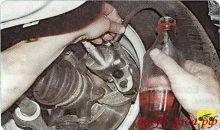 Замена тормозной жидкости на Лада Гранта своими руками: видео