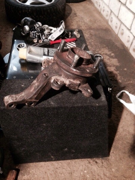 Замена подшипника передней ступицы Рено Логан своими руками: видео