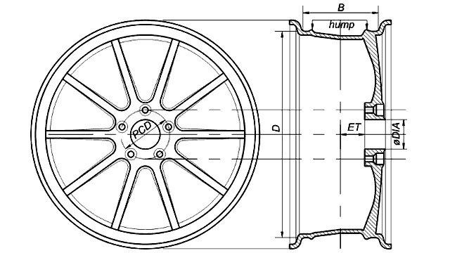 Разболтовка колесных дисков Дэу Нексия: параметры