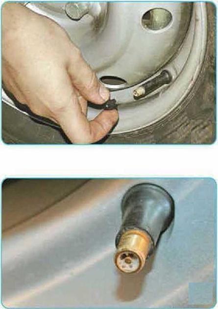 Данные о давлении в шинах на Шевроле Ланос