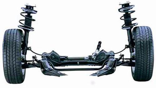 Замена передних амортизационных стоек ВАЗ-2110: проверка стоек