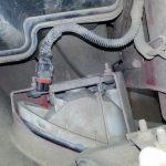 Замена противотуманной лампы на Шевроле Лачетти: фото и видео