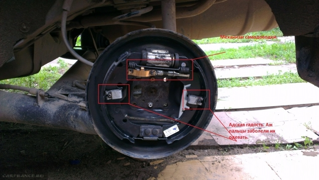 Замена задних тормозных колодок на Форд Фьюжн: фото и видео