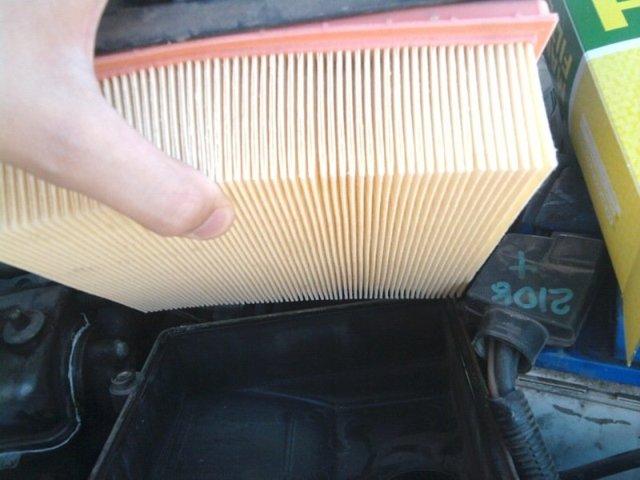 Замена воздушного фильтра на инжекторной ВАЗ-2114: фото и видео