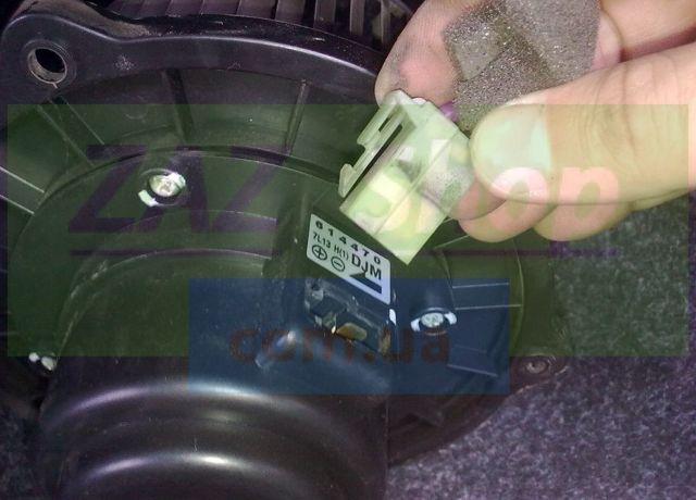 Не работает вентилятор печки на Шевроле Лачетти