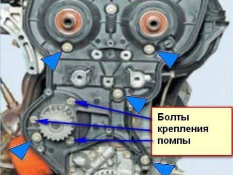 Замена ремня ГРМ на Лада Рриора 16 клапанов: фото видео