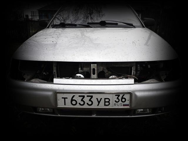 Демонтаж фары ВАЗ-2110 для замена стекла: фото и видео