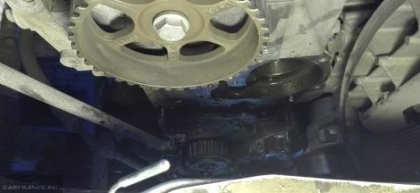 Замена ремня грм на Лада Ларгус 8 клапанов: фото и видео