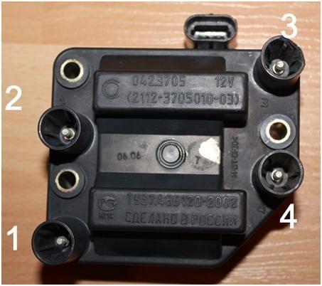 Схема зажигания ВАЗ-2114 и схема подключения проводов 8 клапанов