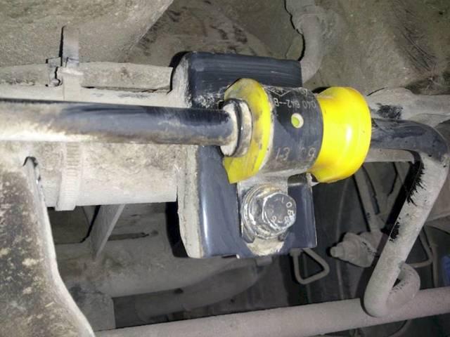 Замена втулок стабилизатора Рено Дастер: фото и видео