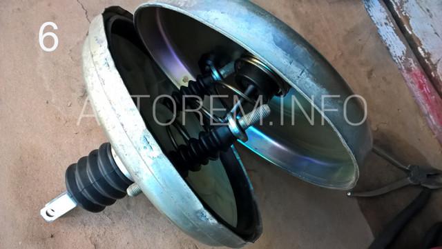 Замена вакуумного усилителя тормозов на ВАЗ-2110: фото и видео