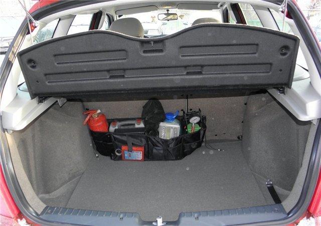 Объём багажника на Лада Калина универсал в литрах