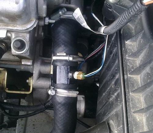 Как узнать какая температура двигателя у Лады Гранты