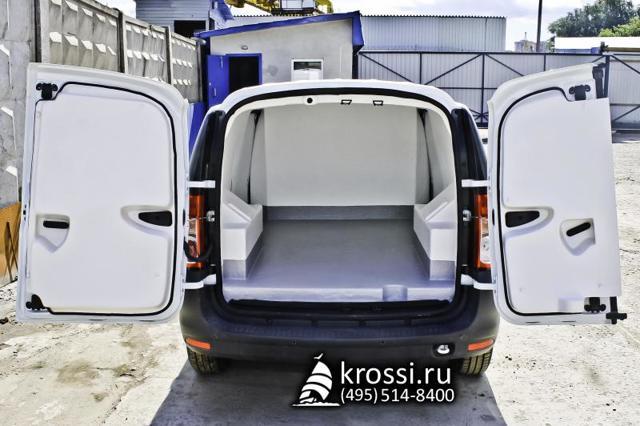Тюнинг фургона Лада Ларгус: фото и видео настила в багажное отделение
