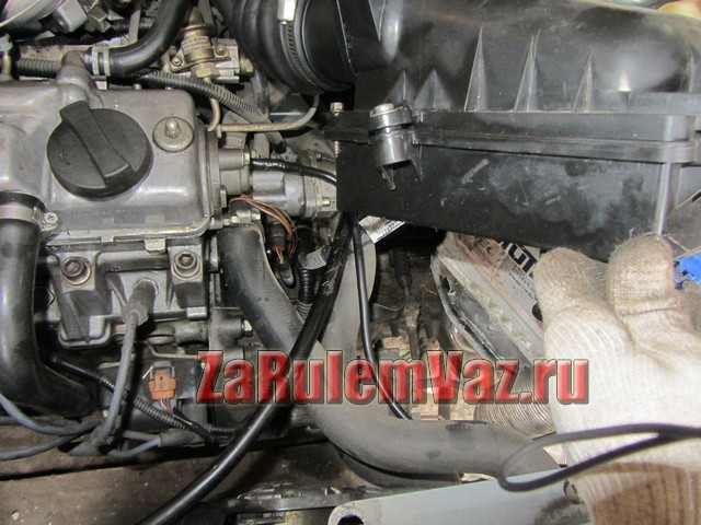 Как поменять датчик температуры охлаждающей жидкости ВАЗ-2114