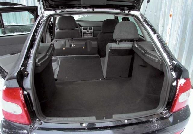 Лада Приора объём и размер багажника на седане