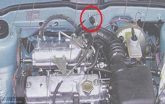 Где находится реле стартера ВАЗ-2114: фото и видео