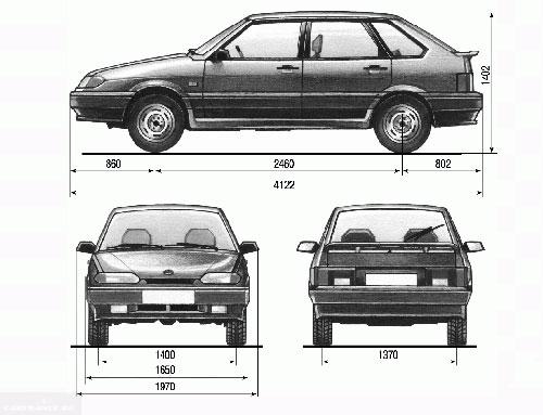 Какой клиренс и дорожный просвет на ВАЗ-2114: фото и видео
