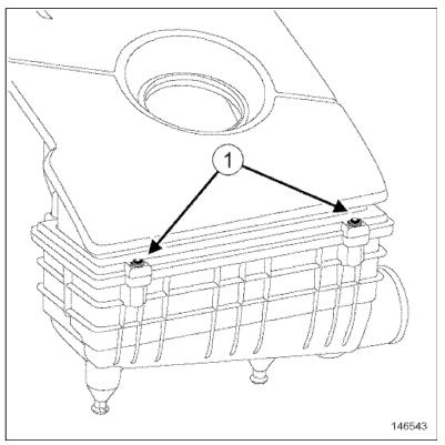 Как заменить воздушный фильтр на Рено Дастер своими руками: видео