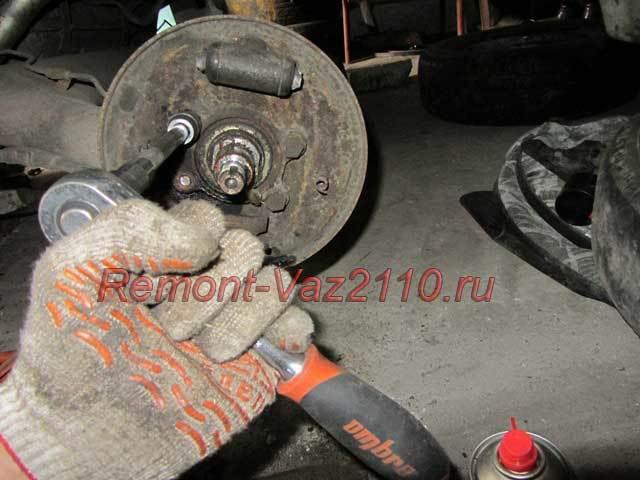 Замена заднего ступичного подшипника на ВАЗ-2112: фото, видео