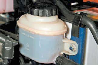 Какая жидкость заливается в гидроусилитель в Шевроле Лачетти