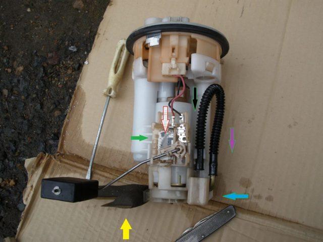 Замена топливного фильтра Лада Калина: фото и видео