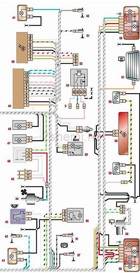 Как включить ближний свет фар на ВАЗ-2114: фото
